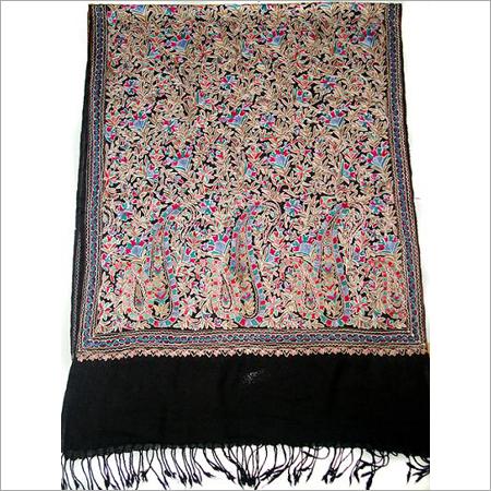 Kashmiri Embroidery Fine Wool Shawls