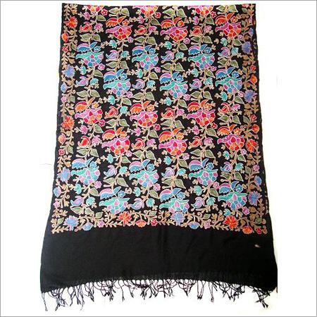 Kashmiri Embroidery Fine Woolen Shawls