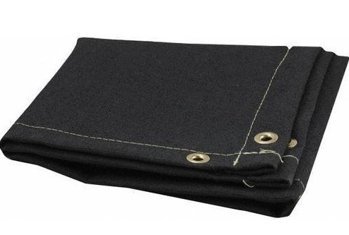 Graphite Coated Fiberglass Welding Blanket