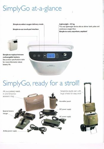 Simply Go Portable Oxygen Concentrator