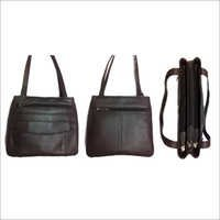 Multi-Compartment Ladies Shoulder-Bag