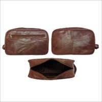 Leather Wash-Bag