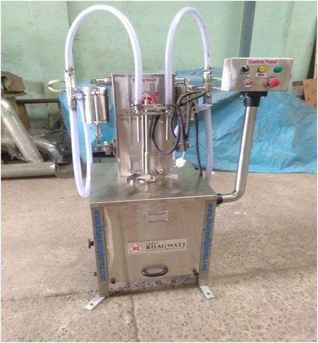 Twin Head Liquid Filling Machines
