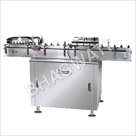 Vial & Bottle Sticker Labelling Machines