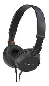 Sony MDR-ZX100 Sound Monitoring On-Ear Headphone (Black)