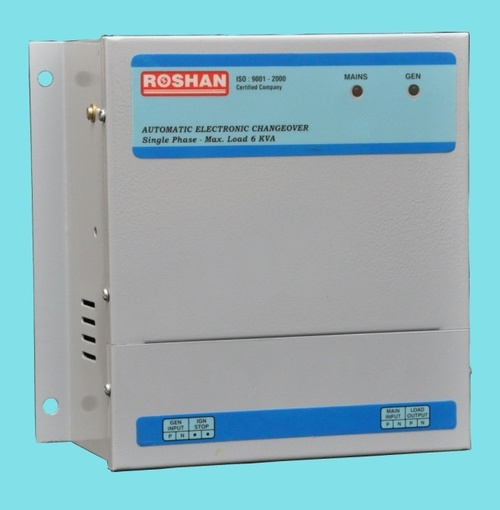 6 KVA Automatic Changeover Switch