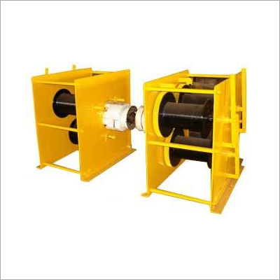 3 Drum Power Winch Machine for Mobile Tower Plant