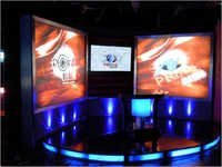 News Channel Sets With Translight