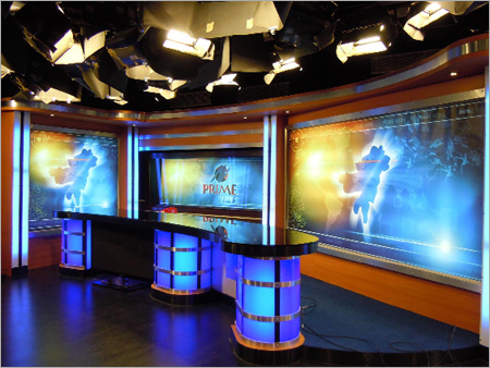 Turnkey Solution For Broadcast Studios