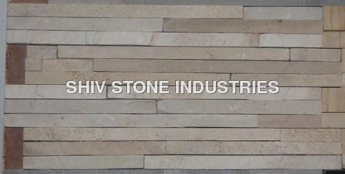 Multicolor Sandstone Wall Panel