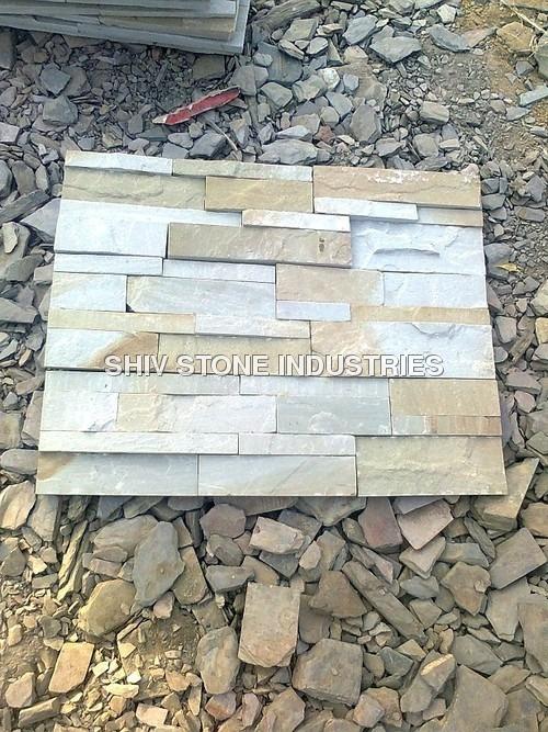 Mint multi Sandstone Wall Panel