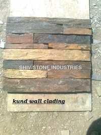Multicolor Slate Stone Wall Cladding