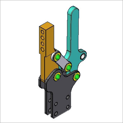 Industrial Pneumatic Toggle Clamps