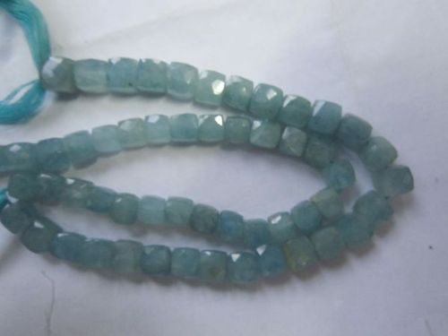 Faceted Box Beads Gemstone 8Mm-9Mm