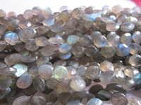 Labradorite  Faceted Briolettes  Beads Gemstone