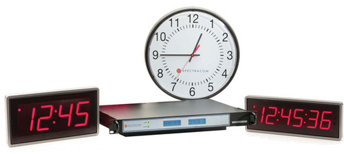 Synchronized Clocks and Time Displays