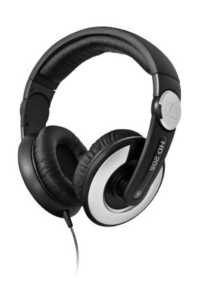 Sennheiser HD 205 II Closed Back Around Over-Ear Stereo Headphone with Mic and Rotatable Ear Cup