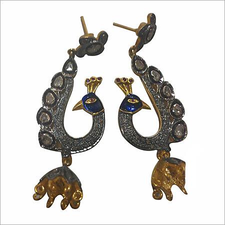 Designer Victorian Earring