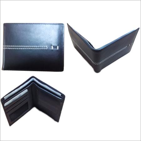Genuine Black Leather Wallet