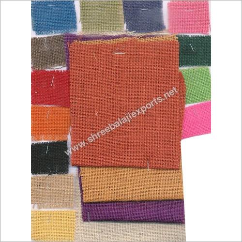 Coloured jute clothes