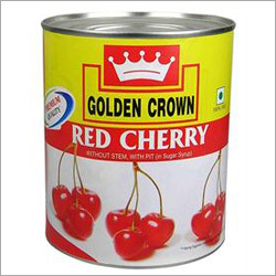 Canned Red Cherry Seed Less