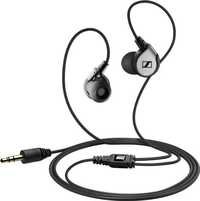Sennheiser MM 80i In-Ear Headphone with Mic for iPhones, iPads or iPods (Black)