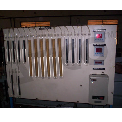 Wind Tunnel Panel Board With Manometer
