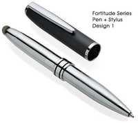 Portronics Multifunctional Stylus Pens:Fortitude stylus pen POR 053-Silver