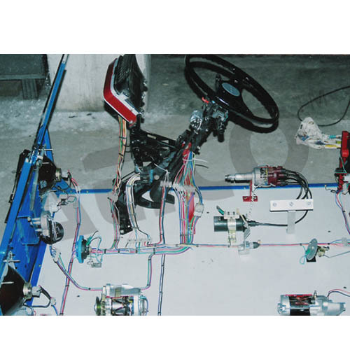 Cut Section Of Electrical System Of Car