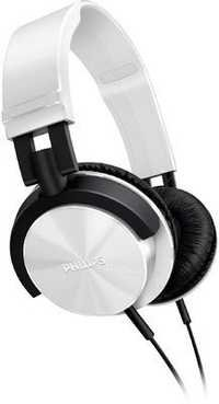 Philips SHL3000WT Over-the-ear Headphones (White)