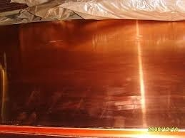 EC Grade Copper Sheets