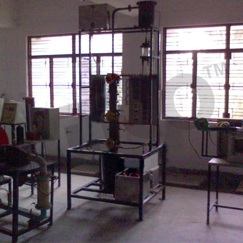 Bubble Cap Distillation Column-Cut Pic
