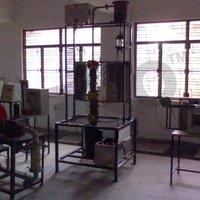Bubble Cap Distillation Column-Cut Pic