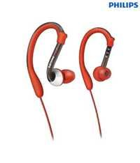 Philips SHQ3000 Washproof Earhook Sports Headphone (Orange)