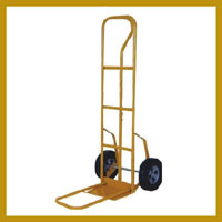 Hand Trolley With Rubber & Solid Wheel
