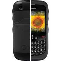 Reflex Series Case - Black for BlackBerry Curve 8520, BlackBerry Curve 3G 9300