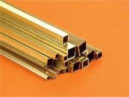 Brass Square Pipes