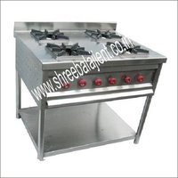 Continental Four Burner Gas Range