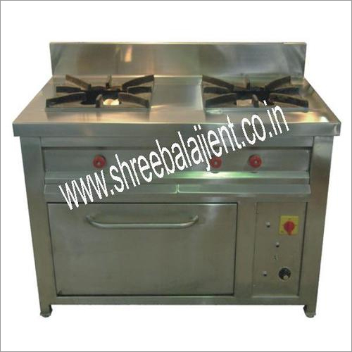 Two Burner Gas Range Below Oven