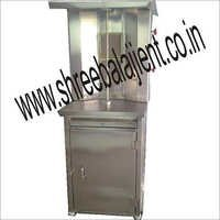 Chicken Shawarma Machine With Cabinet