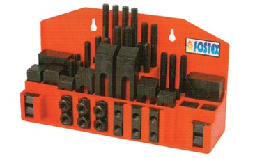 52-Pc Steel Clamping Kit