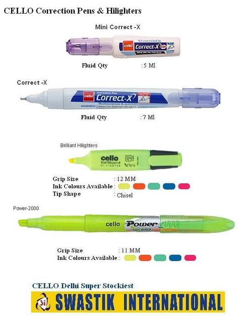 Correction Pens