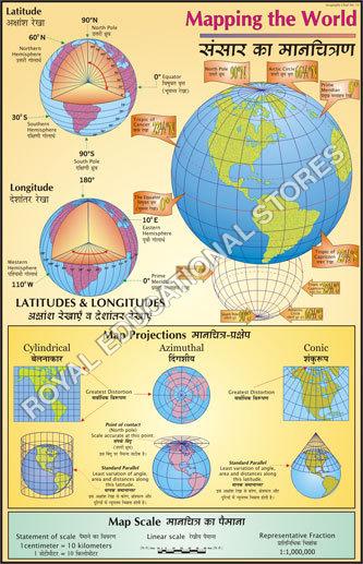 Map Laminated Chart