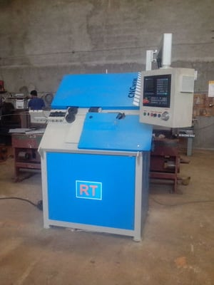 2D CNC Wire Forming Machine