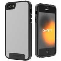 Cygnett Apollo Fused Case for iPhone 5 (White/Grey)
