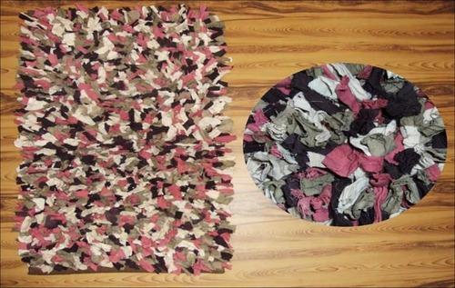 Cotton Multi Shag Rugs