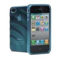 Cygnett Ripple Effect TPU Case for iPhone 4/4S (Blue)