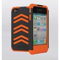 Cygnett Workmate Shock Resistant Case for iPhone 4/4S (Grey/Orange)