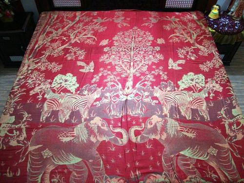 Silk Bedspreads Fabric