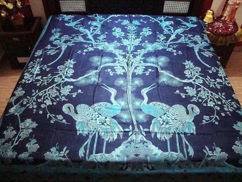 Duck Design Bed Sheet Fabric